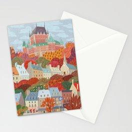 Québec City Stationery Cards