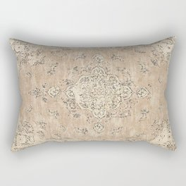 Heritage Vintage Rug Design Rectangular Pillow