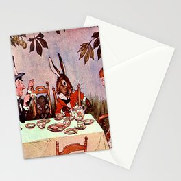 """""""Why is a Raven Like a Writing Desk?"""" Milo Winter Stationery Cards"""