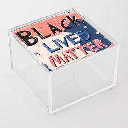 Black Lives Matter Acrylic Box
