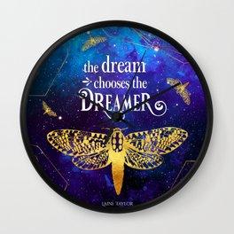 Strange The Dreamer - Laini Taylor Wall Clock