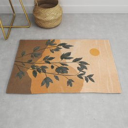Plant Under a Dune Rug
