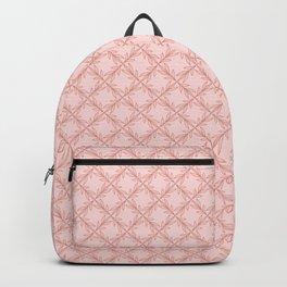 Original Handmade Pattern - Rose Olive Branch Backpack