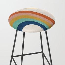 The Sun and a Rainbow Bar Stool
