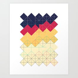 Created with code! - Geometric Art - Digital Download Art Print