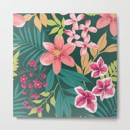 Blossom Pink Metal Print