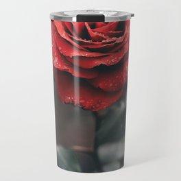 ROSE - WET - DEW - WATER Travel Mug