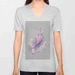 Grey Gown Sketch no 1 Unisex V-Neck