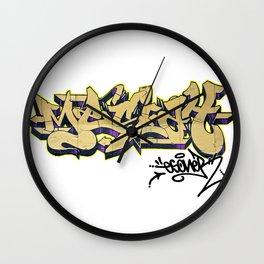 MESIAH OLD SCHOOL URBAN GRAFFITI STREET STYLE Wall Clock