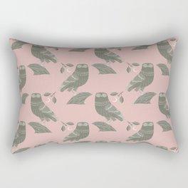 The Owl of Athena Rectangular Pillow