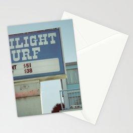 Twilight Surf Stationery Cards