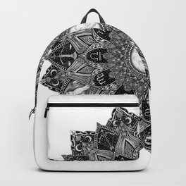 Zodiac Signs Mandala Backpack