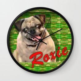 Roxie, framed! Wall Clock