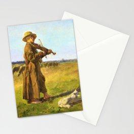 Jozef Chelmonski - Cowherd - Digital Remastered Edition Stationery Cards