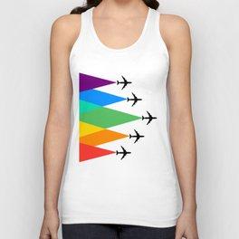 Fly the Rainbow  Unisex Tank Top