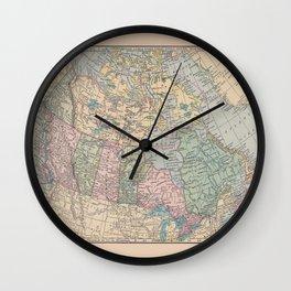 Oh Canada Wall Clock
