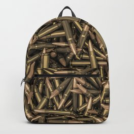 Rifle bullets Backpack