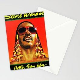stevie wonder hotter than july tour 2020 logo muncrat Stationery Cards