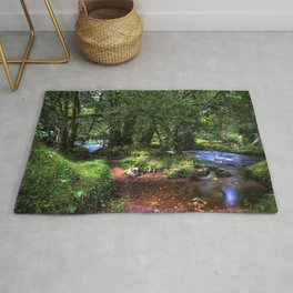 Quietly Flows The River Dart Rug