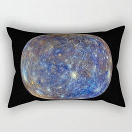 Planet Mercury Deep Space Mission Photograph Rectangular Pillow