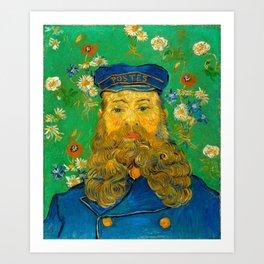 Vincent van Gogh - Portrait of Joseph Roulin (1889) Art Print