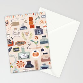 Ink and Things for Writers Stationery Cards