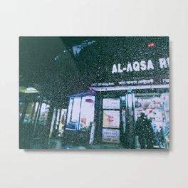 Rainy New York Metal Print
