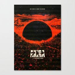 AkiraAnime Canvas Print