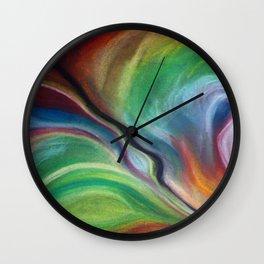 Colour burst Wall Clock