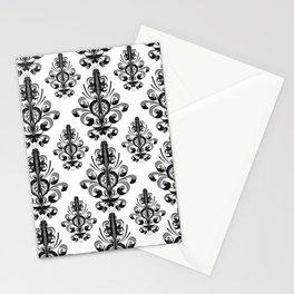 Baroque ornamental pattern  Stationery Cards