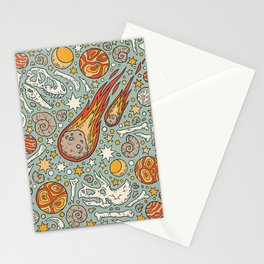 The Asteroid & the Omega Stationery Cards