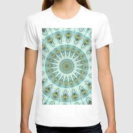 Peacock Feather Mandala T-shirt