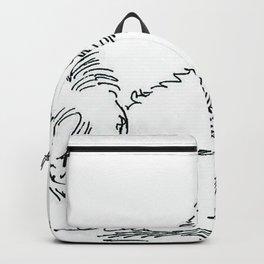 dog decor Backpack