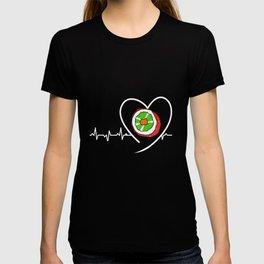 Sushi Heartbeat Heartline Kawaii Japanese Food T-shirt