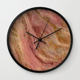 Natural Sandstone Art, Valley of Fire - 2 Wall Clock