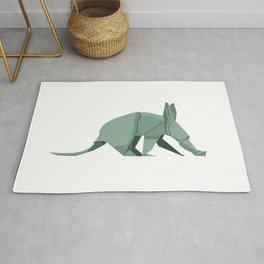 Origami Aardvark Rug