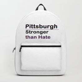 Pittsburgh Stronger than Hate Backpack