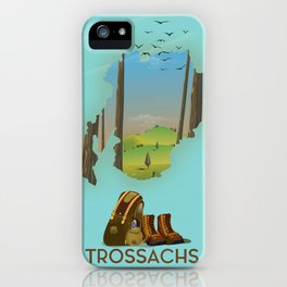 Trossachs Scotland iPhone Case