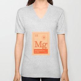 Periodic Elements - 12 Magnesium (Mg) Unisex V-Neck