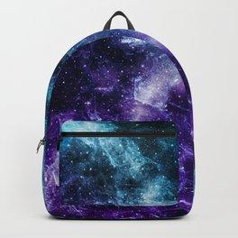 Purple Teal Galaxy Nebula Dream #5 #decor #art #society6 Backpack