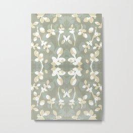 Huckleberry Pattern 1 Metal Print