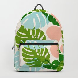Abstraction_FLORAL_NATURE_Minimalism_001 Backpack