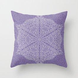 Winter Frills Throw Pillow