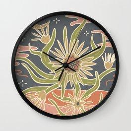 Cactus Tarot Cards- Moonlight Wall Clock
