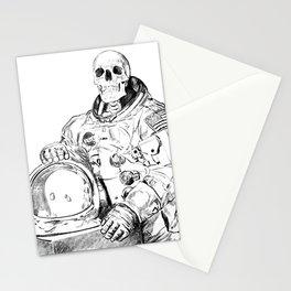 Astronaut Skeleton Stationery Cards
