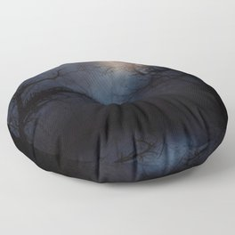 Haunted Forest Floor Pillow