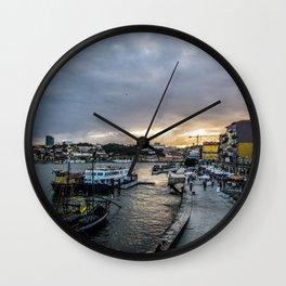 Ribeira do Porto Wall Clock