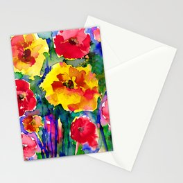 Floral Enchantment No.17B by Kathy Morton Stanion Stationery Cards