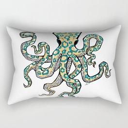 Blue Ringed Octopus Rectangular Pillow