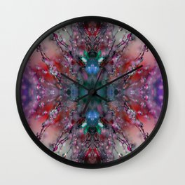Extraterrestrial Nature #2 Wall Clock